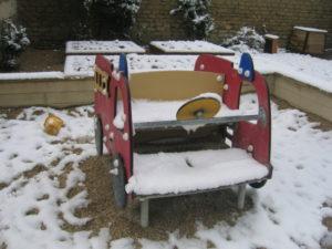 IMG 5778 300x225 De la neige à Luc sur Mer !!!