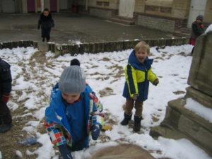 IMG 5783 300x225 De la neige à Luc sur Mer !!!