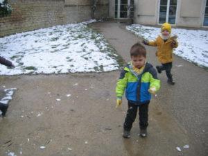 IMG 5799 300x225 De la neige à Luc sur Mer !!!