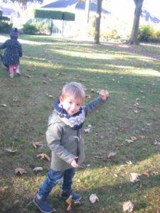 IMG 6520 e1542039534120 225x300 Collecte de feuilles au Parc Verdun