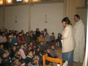 IMG 6703 300x225 Célébration de Noël à la chapelle de Luc sur Mer