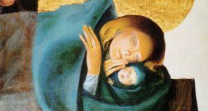 arcabas nativité 300x160 Célébration de Noël à la chapelle de Luc sur Mer