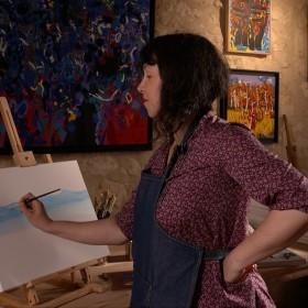 thc 1efa7 Atelier peintre Un beau spectacle sur le thème des arts !