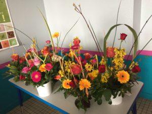 IMG 5637 300x225 de lart floral à lécole !