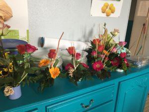 IMG 5648 300x225 de lart floral à lécole !