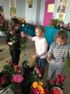 IMG 5650 e1554203723870 225x300 de lart floral à lécole !