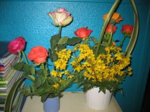 IMG 7079 300x225 de lart floral à lécole !