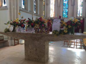 célébration pâques 17 300x225 Célébration de Pâques