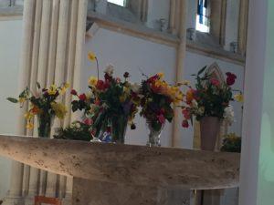célébration pâques 2 300x225 Célébration de Pâques